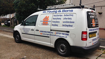 W Youngs & Sons Van
